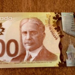 Buy Counterfeit 100 Canadian Dollar Bills . The Best Quality