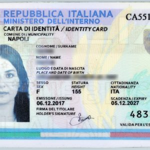 Buy Fake Italian ID Card Online. The Best Quality Now.