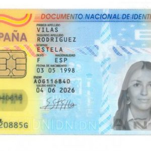 Buy fake Spanish ID card online. The Best Quality Now